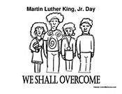 We Shall Overcome MLK Day