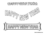 Happy New Year Posters
