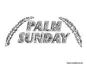 Palm Sunday Poster 2