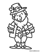 irish people coloring pages - photo#20