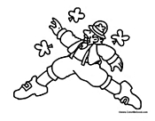 irish people coloring pages - photo#30