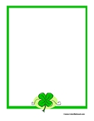 St. Patricks Day Paper