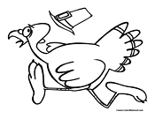 Turkey Coloring Page 09