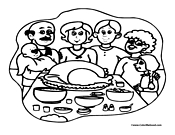 Turkey Coloring Page 11