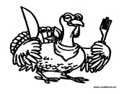 Cartoon Turkey Thanksgiving