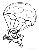 Cupid Coloring Page 8