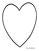 Heart Coloring Page 2