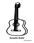 Acoustic Guitar Instrument