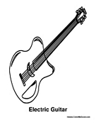Electric Guitar Instrument