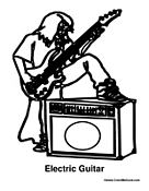 Electric Guitar Boy