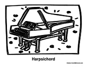 Harpsichord Instrument