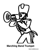 Band Trumpet Player