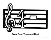 Four Four Time and Rest
