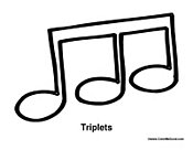 Triplet Notes Triplets