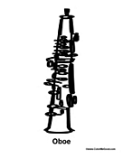 oboe coloring pages more music coloring sheets click here oboeOboe Coloring Pages