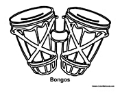 Bongos Percussion Drums