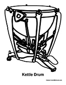 Kettle Drum Percussion