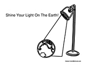 Shine Your Light on the Earth
