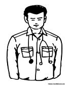 male nurse coloring pages - photo#4