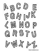 Complete ABC Alphabet Coloring