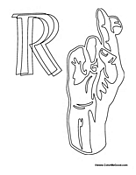 Sign Language - Letter R