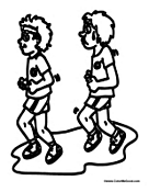 Physical Education Coloring Pages Pe Coloring Pages
