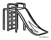 Playground Recess Slide