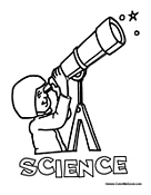 free coloring pages science coloring pages