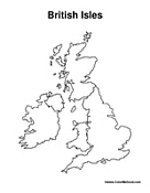Map of British Isles