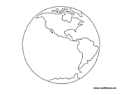 Blank Map of the World / Earth