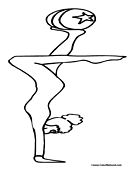 acrobat coloring pages - photo#1