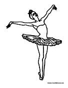 Girl Ballerina Dance