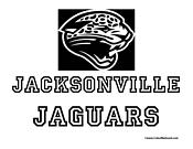 Jacksonville Jaguars Coloring Page