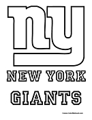 Nfl Coloring Pages Ny Giants Coloring Pages