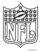 nfl coloring page  Football Worksheets