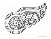 red wing coloring pages - photo#1