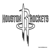 Houston Rockets Coloring Page