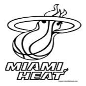 miami heat coloring pages basketball coloring pages nba coloring pages