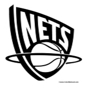 New Jersery Nets Coloring Page