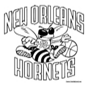 New Orleans Hornets Coloring Page