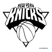 New York Knicks Coloring Page