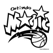 Orlando Magic Coloring Page