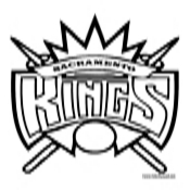 Sacramento Kings Coloring Page