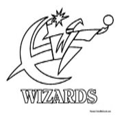 Washington Wizards Coloring Page