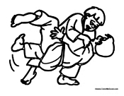 mma fighting coloring page coloring pages