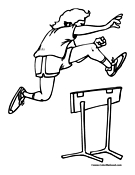 Track Coloring Pages