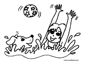 4Real Forums: Swimming Safety coloring pages?