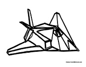 stealth bomber coloring pages - photo#5