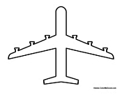 airplane cut out template - eye of the tiger coloring page coloring pages