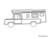 RV Motor Home Camper